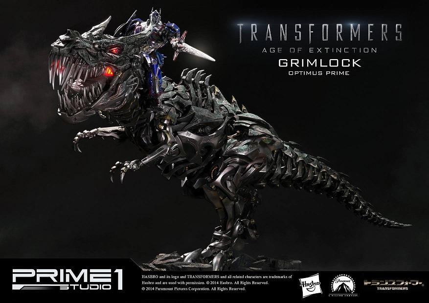 Statues des Films Transformers (articulé, non transformable) ― Par Prime1Studio, M3 Studio, Concept Zone, Super Fans Group, Soap Studio, Soldier Story Toys, etc - Page 2 814288Prime1StudioMMTFM05GrimlockOptimusPrimeStatue341410887635