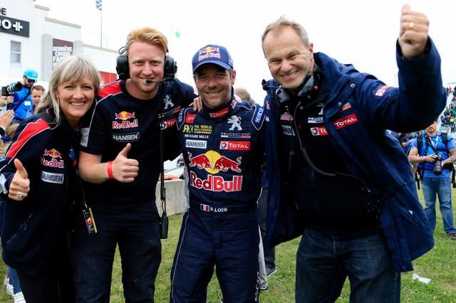 Troisième podium d'affilée pour Sébastien Loeb et la PEUGEOT 208 WRX, au Canada 8200035987881e202c3zoom