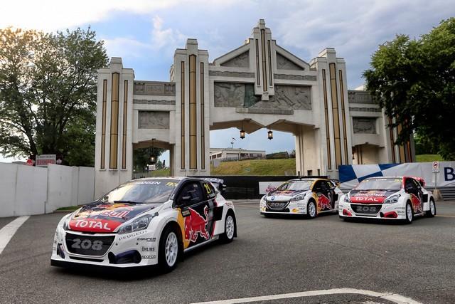 Troisième podium d'affilée pour Sébastien Loeb et la PEUGEOT 208 WRX, au Canada 82274759853f16ea1c8zoom