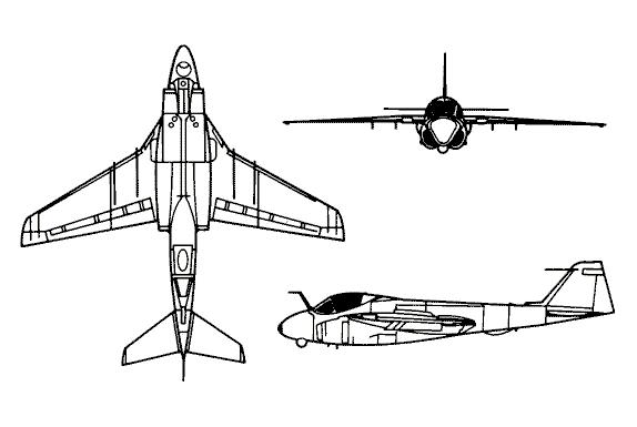 MCDONNELL-DOUGLAS F/A-18 HORNET  824628GRUMMAN_A_6_INTRUDER