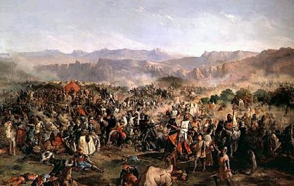 هل خضع المغرب لنفوذ الإمبراطورية العثمانية ؟ 825077PHOTOLISTE20090617120400espagnebatailledelas600