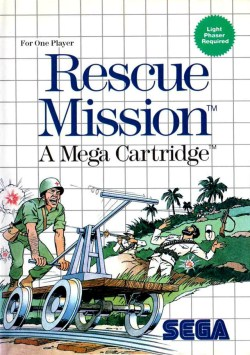 [RETROGAMING] Rescue Mission / Master System 826561jaquette