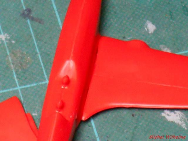 DE HAVILLAND D H88 kit Airfix 1959 826705DSCN9366Copier