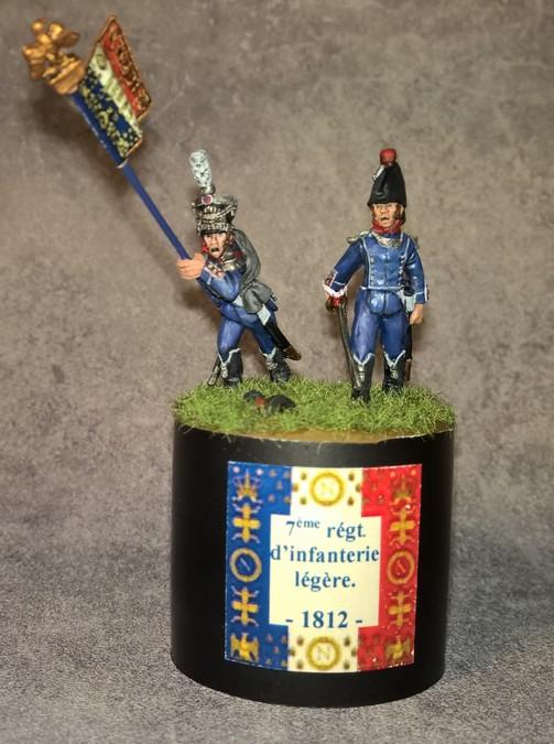 7ème régiment d infanterie légère - 1812 - Petite surprise ! 8268847emergtinflgre18125
