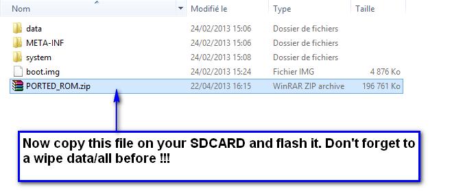 [TUTO] Comment porter une ROM stock [ Touchwizz, Sense ] 830930Copyrom