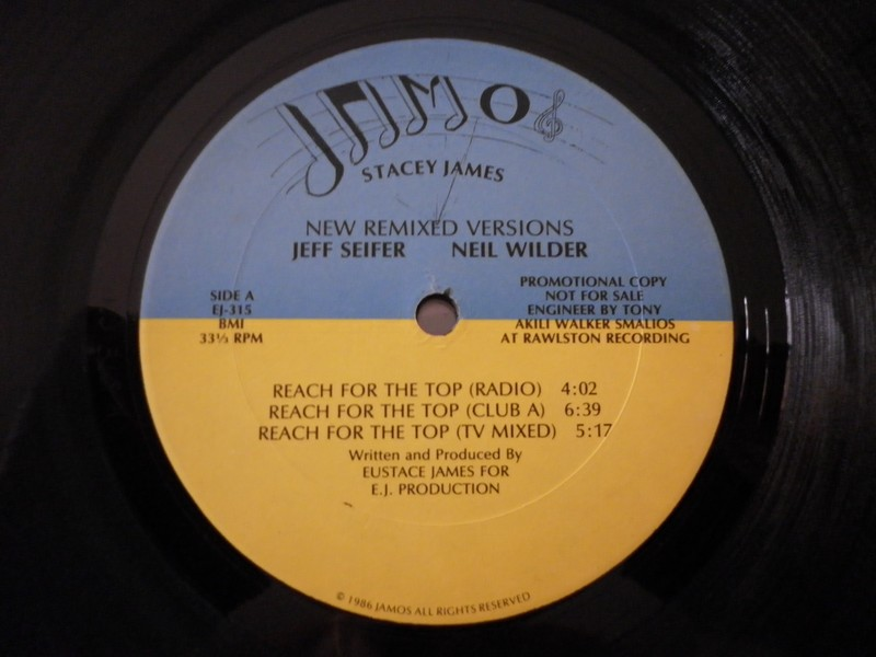12'-STACEY JAMES-REACH FOR THE TOP-86-JAMOS REC 831217sta