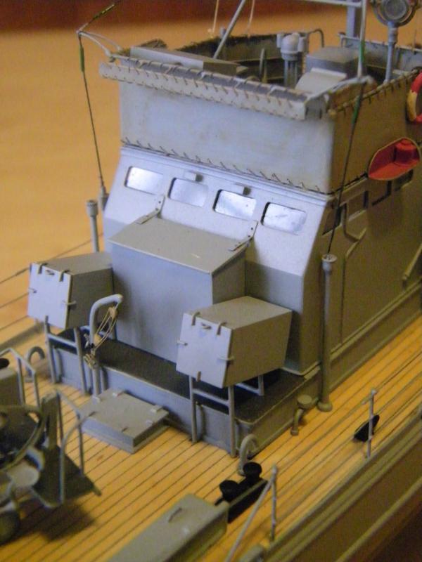 Chasseur de sous-marin CH 123 au 1/100e sur plan 8314151001743
