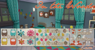 Et un Tumblr de plus, un ! - Lin'&Sims 834244PreviewInTheWoodsStickers