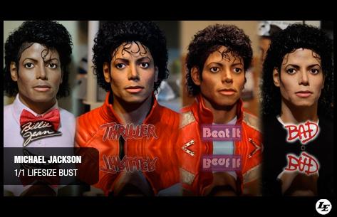 [Custom] Michael Jackson 1/1 Lifesize Bust 834416mjlifesizebust