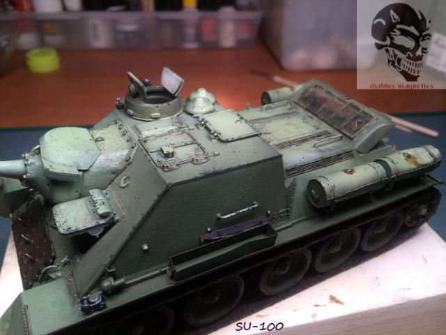 SU-100 marque Dragon 1/35 - Page 2 836259IMG3893