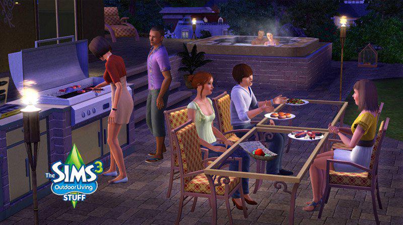 Les Sims™ 3 : Jardin de style Kit 83666605
