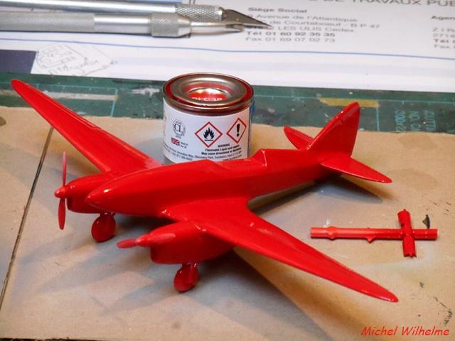 DE HAVILLAND D H88 kit Airfix 1959 840746DSCN9404Copier