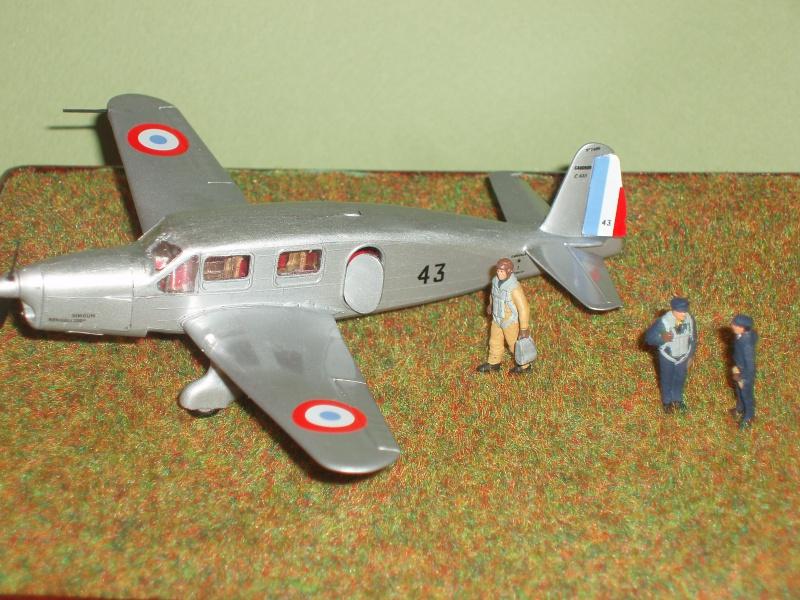 Diorama Caudron Simoun Armée de l'Air! 841867P1010330