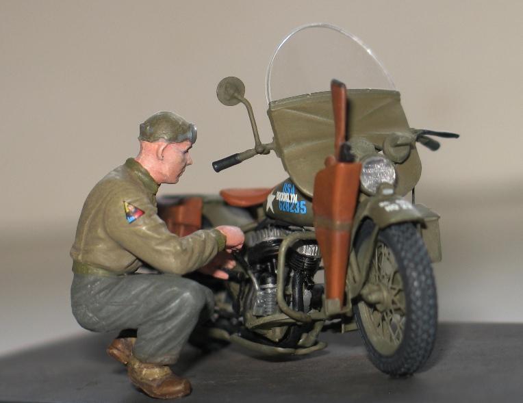Harley WLA US Army WW2  Miniart 1/35 842034IMG0143