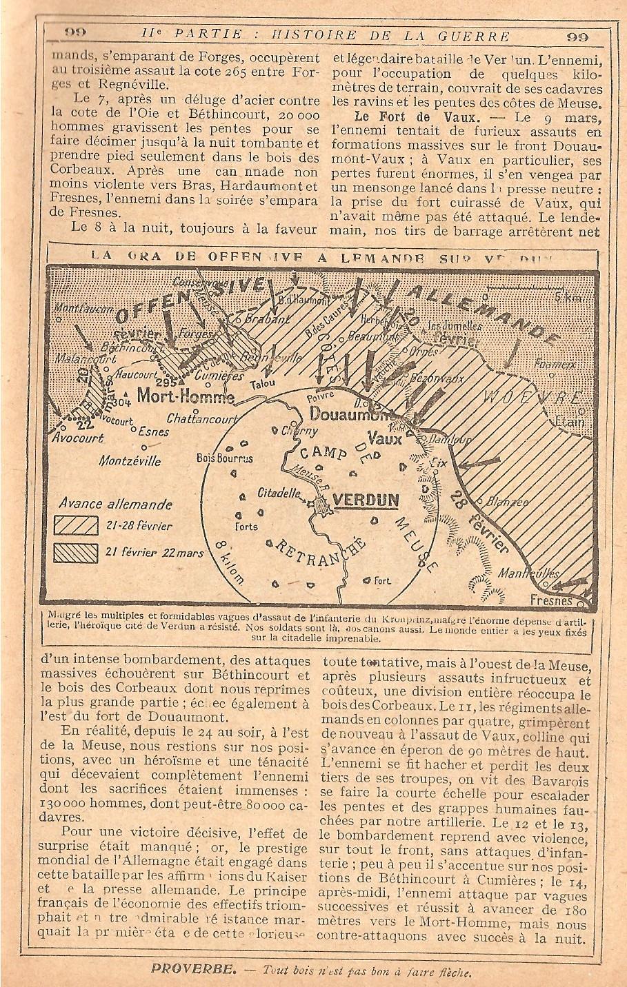 [ Histoires et histoire ] LE CENTENAIRE DE LA GRANDE GUERRE - Page 4 842361Verdun8