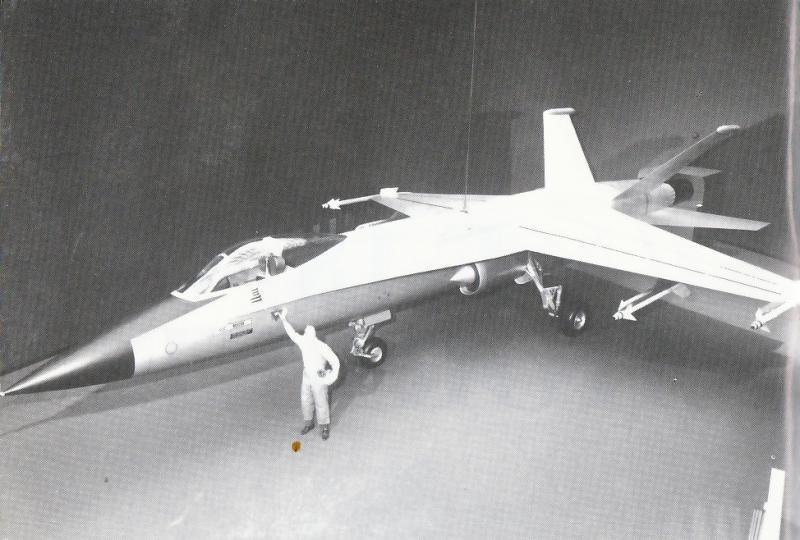MCDONNELL-DOUGLAS F/A-18 HORNET  844469Northrop_P_530_2