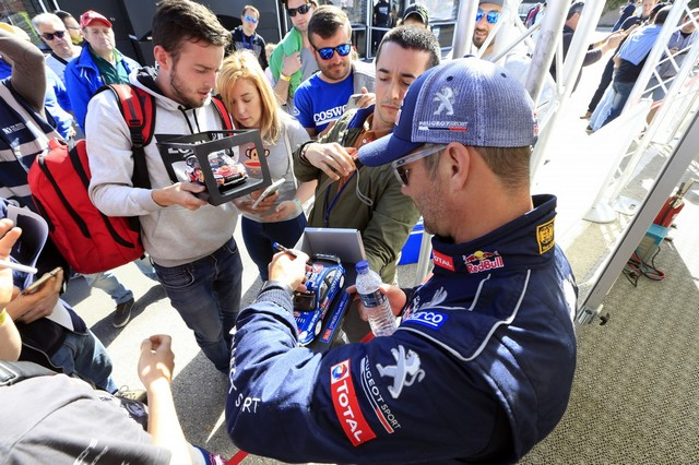 Sébastien Loeb et la PEUGEOT 208 WRX décrochent une belle deuxième place à Montalegre 84469258fc89698c896
