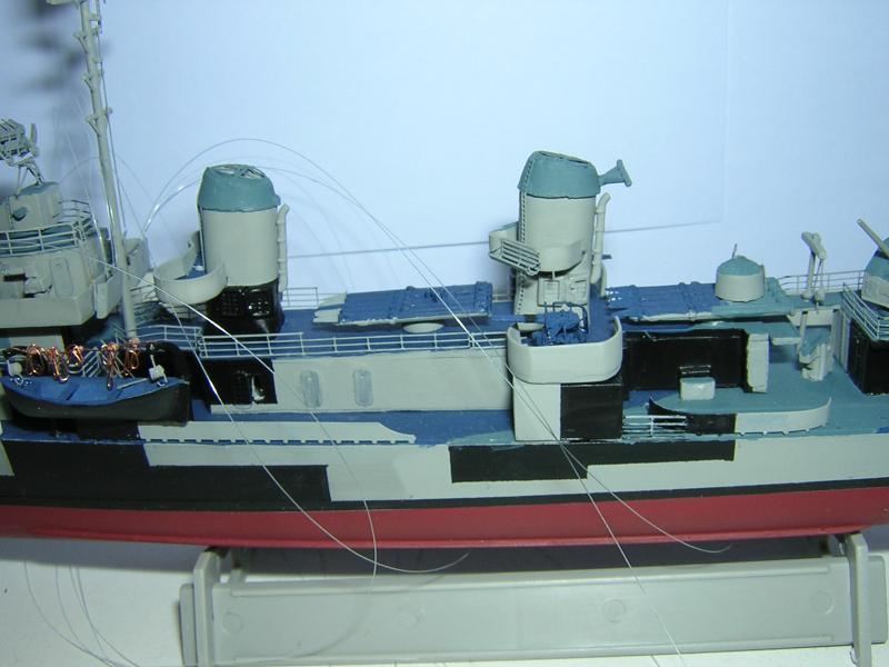 DD- 541 USS YARNELL 1/350, base Trumpeter 849721DSCN7076