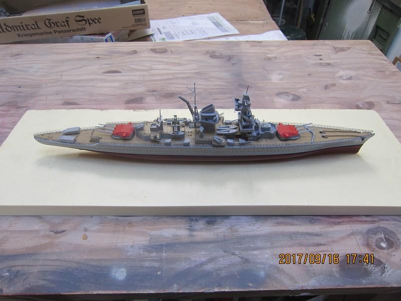 Cuirassé Admiral SCHEER hELLER 1/400 850263IMG4870Copier