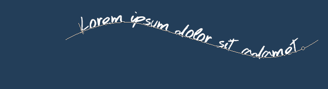 [Apprenti] Texte sur une courbe 850811008
