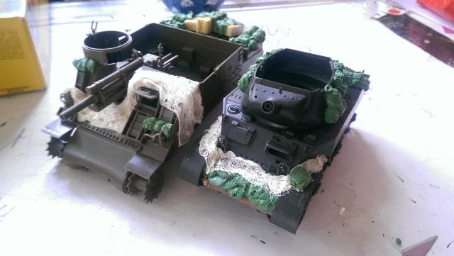 M7 PRIEST Italeri et M8 Howitzer Tamiya 1/35 852195IMAG2471