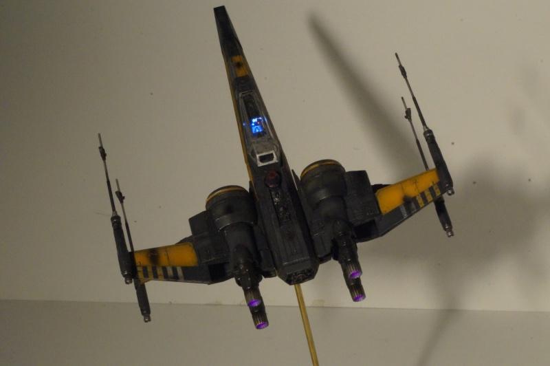 "X-Wing ""Resistance"" T-70 Bandaï 1/72 855489DSC01531"