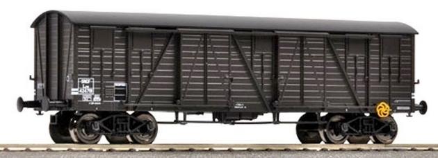Wagons couverts à bogies zamak 856260FLEISCHMANNcouvertbogiesTP539101R