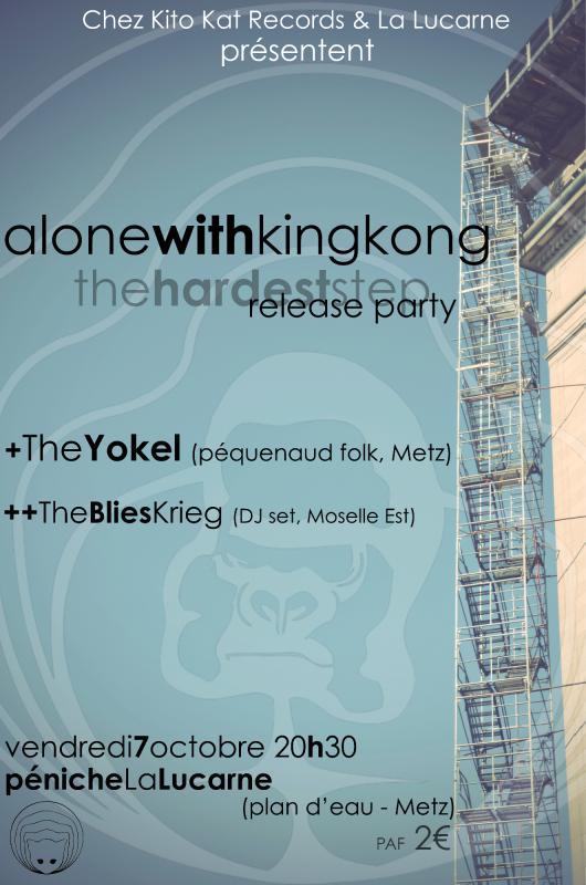 Alone with King Kong (Pop - Chez Kito Kat) - Nouvel album 856867VisuRelease