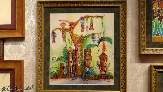 [Disneyland Park] The Disney Gallery - Exposition Tiki, Tiki, Tiki Realms, Celebrating 50 Years of Enchantment 856954t15