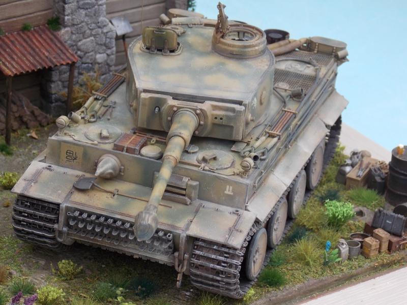 TIGRE S33  avant la bataille de Koursk juillet 43 (Dragon 1/35 dio DIODUMP) - Page 8 857747DSCN4706