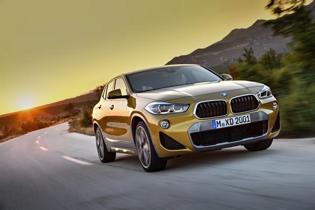 La nouvelle BMW X2 Silhouette élégante, dynamique exceptionnelle 858977P90278987highResthebrandnewbmwx2