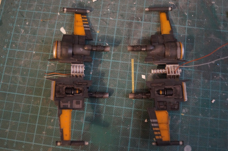 "X-Wing ""Resistance"" T-70 Bandaï 1/72 861441DSC01451"