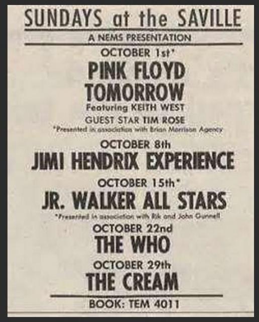 Londres (Saville Theatre) : 8 octobre 1967 [Second concert] 862887093047