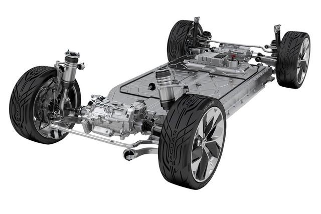 Jaguar Dévoile Le Concept I-PACE : Le SUV Électrique Performant 865630jagipacepowertainbatterysuspension141116