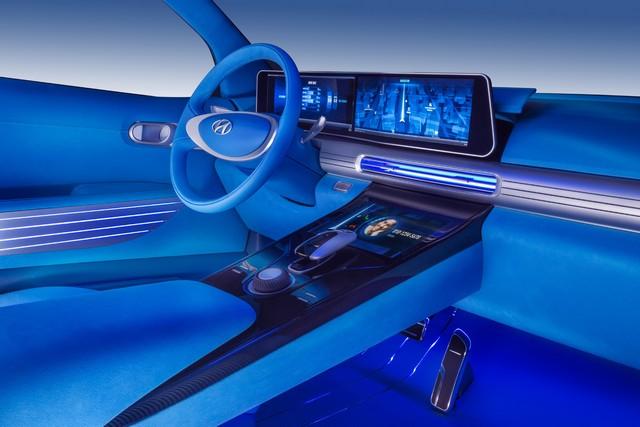 Hyundai a dévoilé son concept Fuel Cell nouvelle génération au salon de l'automobile de Genève 866094FEFuelCellConceptInterior4