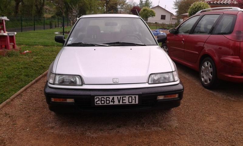 Une Honda CIVIC EC9  de 1991 86764820160422074828