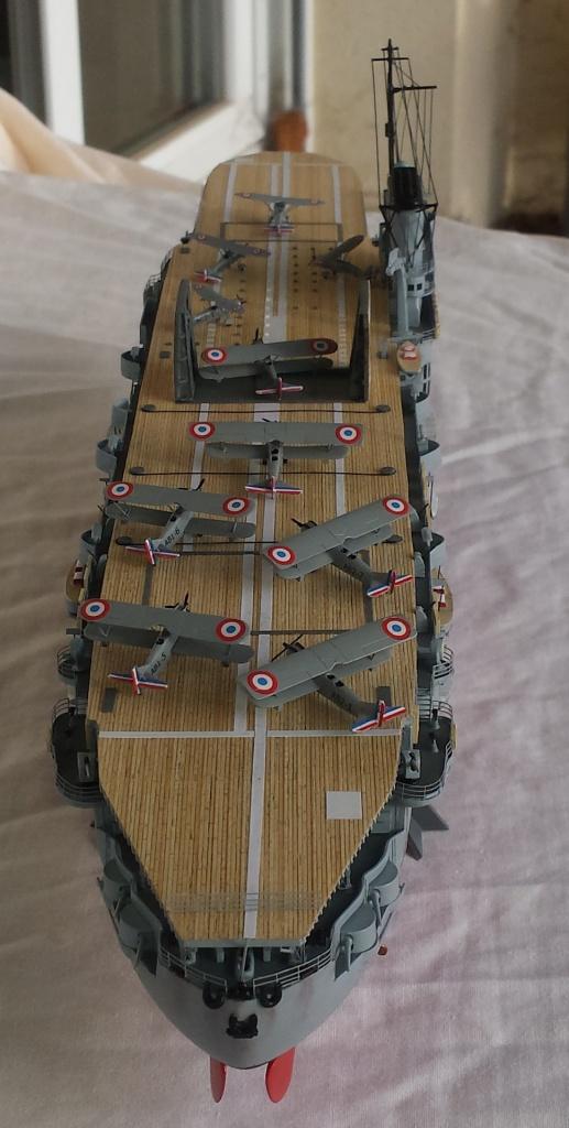 Porte avions Béarn (1939) - Terminé. 86847220150104105400