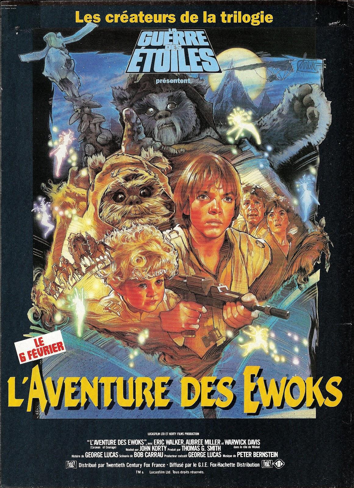 Star Wars - Page 15 872477laventuredesewokslacaravanedecourageaffiche8301