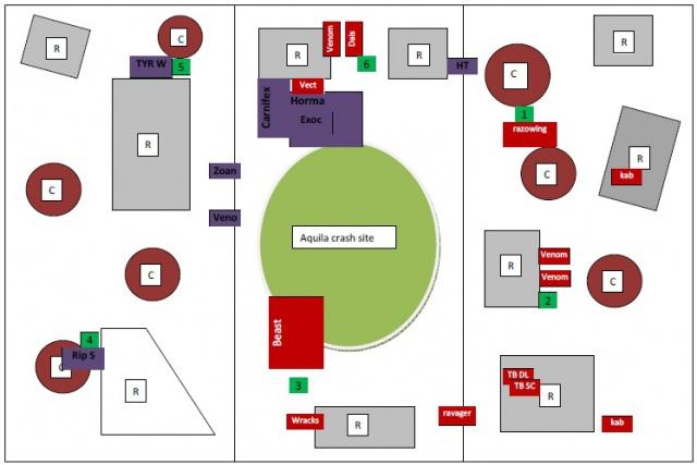 1850pts- Vect host against Hive fleet 873232140802turn2Tyr