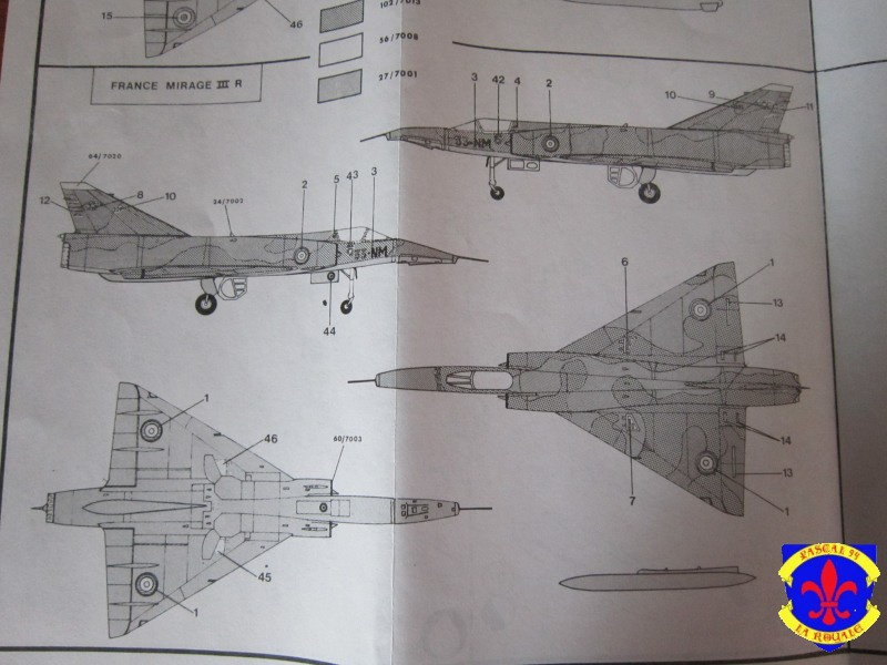 Mirage III E/R/5/BA de Heller au 1/72 875097IMG36231