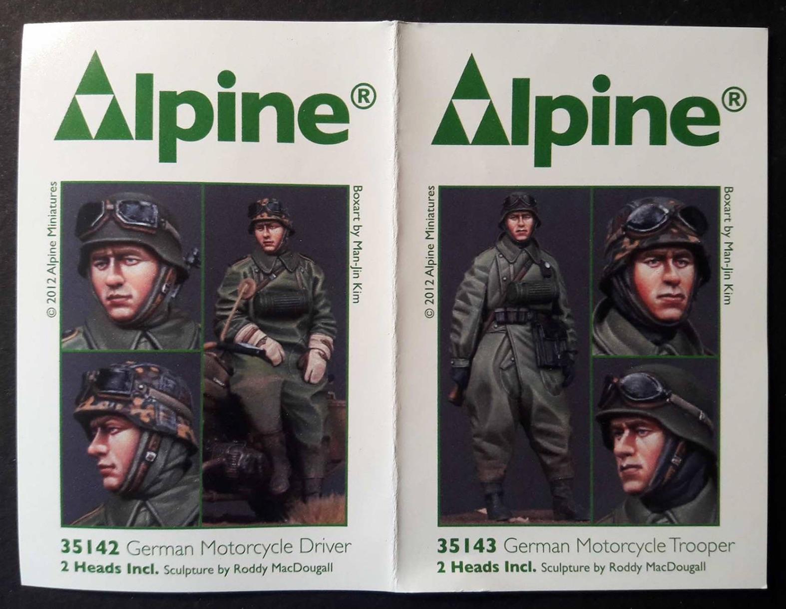 Zündapp KS750 - Sidecar - Great Wall Hobby + figurines Alpine - 1/35 875348ZundappCrew