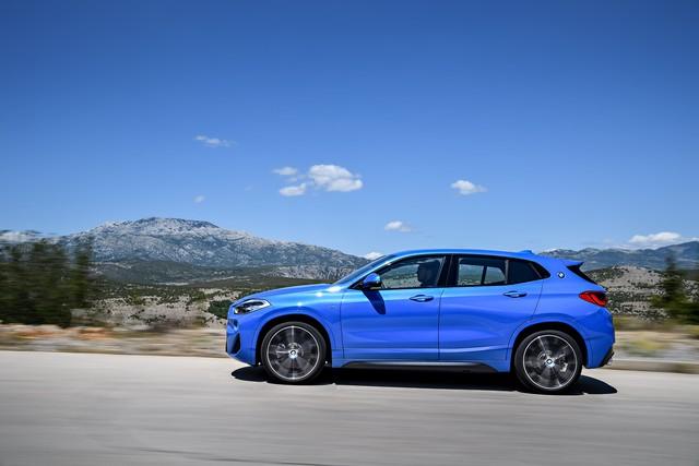 La nouvelle BMW X2 Silhouette élégante, dynamique exceptionnelle 876072P90278945highResthebrandnewbmwx2