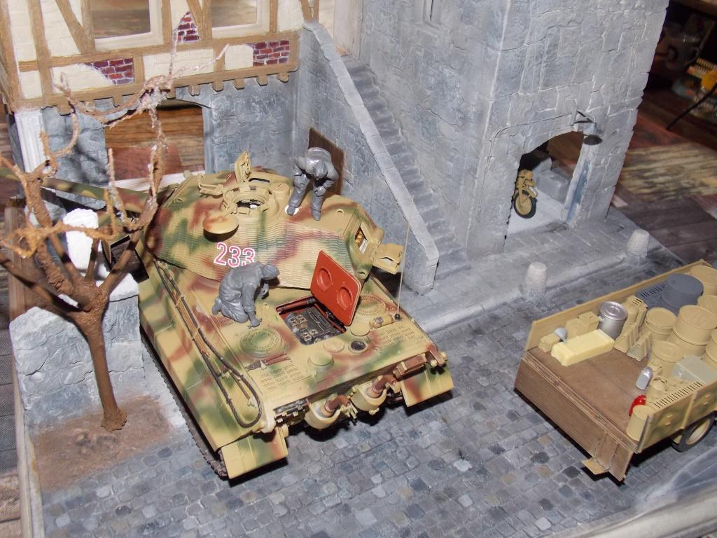 King Tiger à l'entretien Chateau de Chanteloup Aout 44       Projet terminé  - Page 3 876094DSCN5602