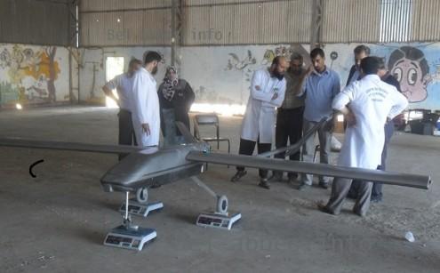 الصناعة الجزائرية العسكرية مع الصور..والتقارير تشير إلى عدم وجود تطور لتصل كعهد السبعينات 876508drone495x307