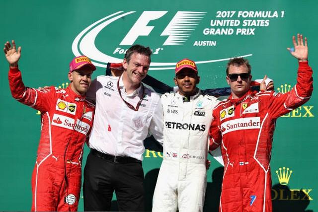F1 GP des États-Unis 2017 : victoire Lewis Hamilton, titre constructeur pour Mercedes 876678865155064