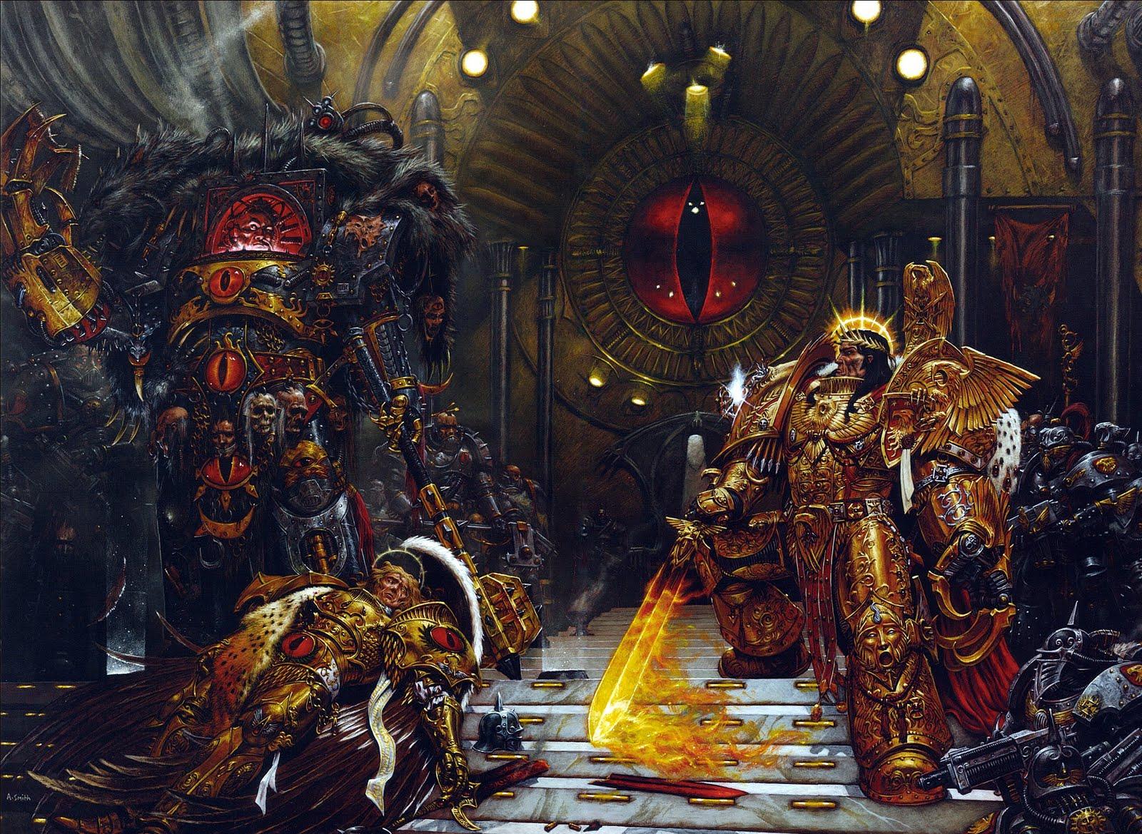 [W30K] L'Empereur de l'Humanité / The Emperor of Mankind 879696EmperorVSHorus
