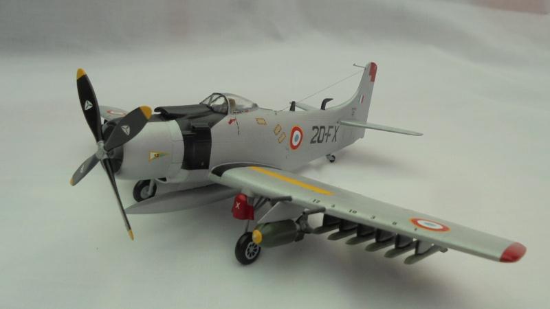 DOUGLAS A1 SKYRAIDER Armée de l'air 880922DSC04576