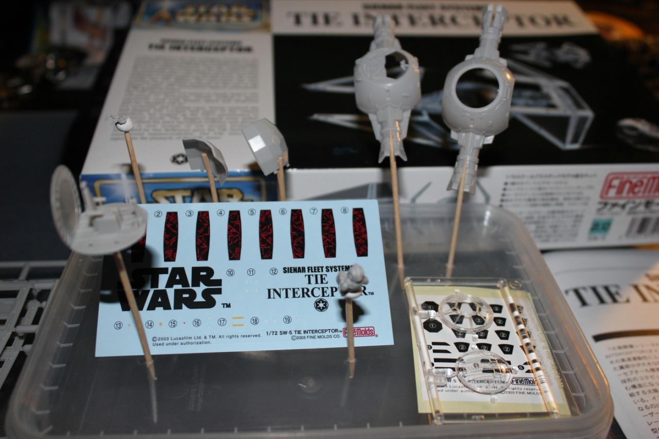 Star Wars [Tie Interceptor] FineMolds 1:72 881727DPP0004