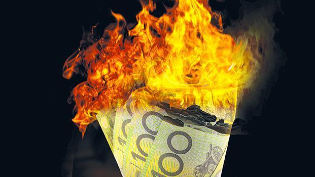 2013-2016 : 666, PUCES IMPLANTABLES, RFID, NANOTECHNOLOGIES, NEUROSCIENCES, N.B.I.C., TRANSHUMANISME ET CYBERNETIQUE ! - Page 5 883545Burningbanknotes