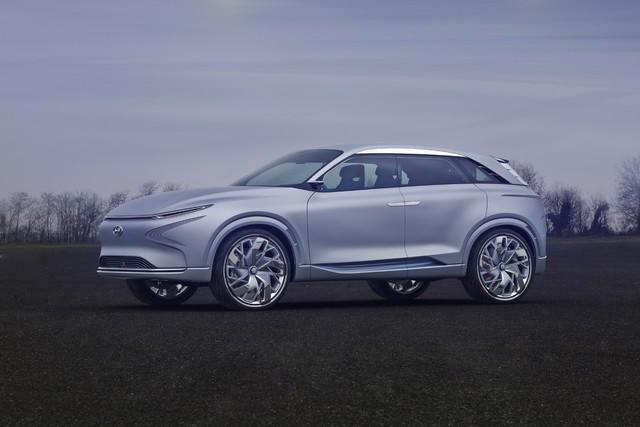 Hyundai a dévoilé son concept Fuel Cell nouvelle génération au salon de l'automobile de Genève 887188FEFuelCellConcept1
